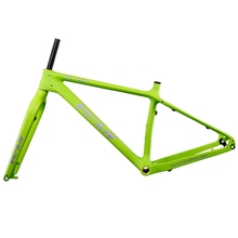 ICAN High Performance Carbon fat bike frame 26er carbon fatty bike frame Rear Space 197mm 16/18/20inch 120mm BSA(China)