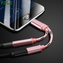PZOZ USB Type C Audio Cable Charger & Music 2 in 1 USB Type-C to 3.5mm jack Audio Conversion For Xiaomi Mi6 Letv Le 2 Pro Max 2
