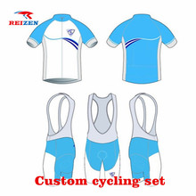 High Quality Custom Cycling Jerseys Any Design/Sizes/Logos Can Be Choose Cycling Set Bike Clothing Personalized Bicycle Wear(China)