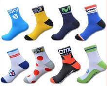 High Quality Unisex Tour de France Team Cycling Socks Riding Bike Socks Sports Runing Socks