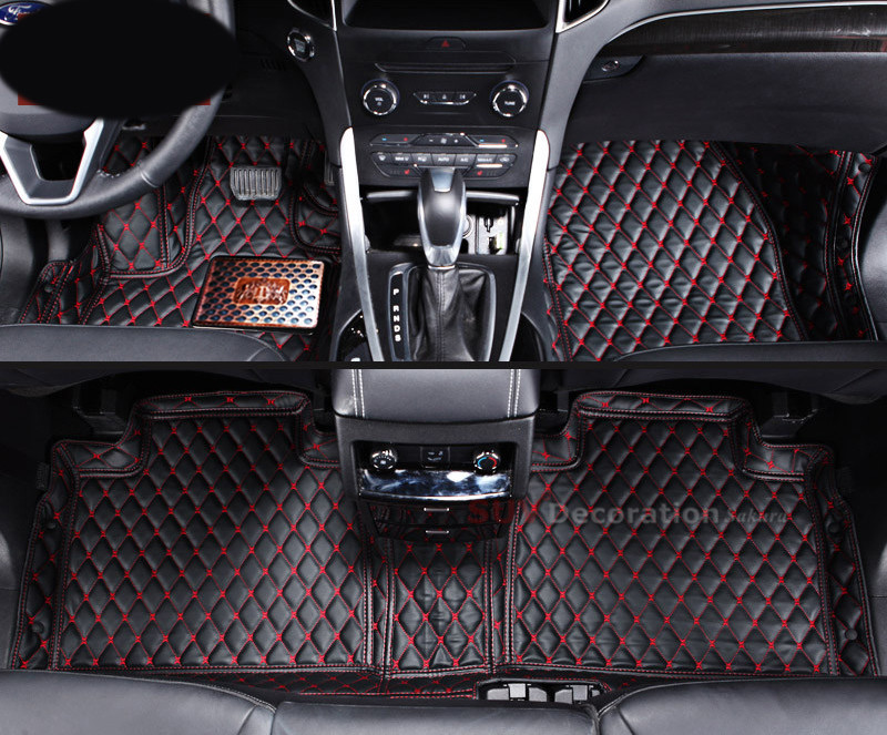 For Ford F-150 F150 2drs 2009 - 2014 Inner Car Floor Mats Covers Leather Foot Pad<br><br>Aliexpress