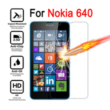cover 9H Premium Tempered Glass For Microsoft Lumia 640 Screen Protector Toughened protective film For Nokia Lumia 640 case