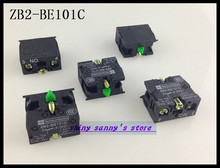 20Pcs/Lot ZB2-BE101C Push Button Switch Contact Block,Normal Open (NO) Brand New