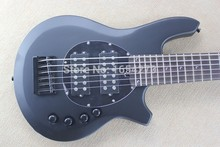 Free shipping HOT black bango bass Best Custom 6 string MUSIC man bass BASS guitar active pickups 9V battery .