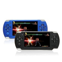 4.3 Inch 32 Bit Handheld Game Console 8GB MP5 Game Player 3.0MP Camera 100 Kinds Games 1000mAh Battery Game Consoles(China)