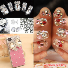 SS5/SS8/SS10/SS20/SS30 Purple Glass Crystal Gems Hotfixed DIY Nail Art Rhinestone Sticker Phone case