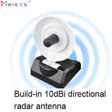 2017 New USB High Power WiFi Wireless Adapter 150Mbps Radar High Gain w/Antenna(China)