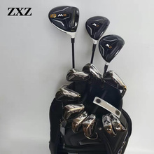 lady or men golf driver 1 wood + fairways wood 3 5 +golf irons for G30 R15 M2 M1 aeroburneo 917D2 G30 golf clubs  complete sets