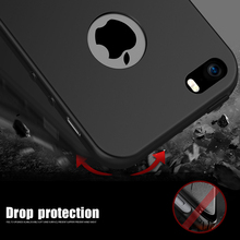 CAFELE New For Iphone 5S Case Soft TPU Silicone Cover Case For Apple Iphone 5 5S Coque For Iphone 5 Case Transparent Back Cover
