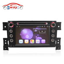 Android 6.0 car dvd player for Suzuki Grand Vitara 2006-2010 grand Nomade(chile) in dash 2 din 1024*600 car dvd gps external MIC