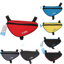 Buy Waterproof Triangle Cycling Bicycle Bags Front Tube Frame Bag Mountain Bike Triangle Pouch Frame Holder Saddle Bag 4 Colors for $2.88 in AliExpress store