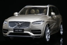 Diecast Car Model All New Volvo XC90 1:18 (Gold/Sparkling Sand) + SMALL GIFT!!!!!!!!!!!