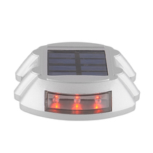 Kung Big promotion solar power lamp 6 LED Garden Road Driveway Pathway Dock Path Security Light for Home Outdoor Garden Light