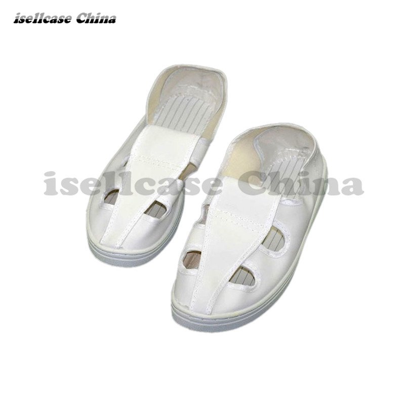 Industry Antistatic slipper Electrostatic Dust-free protective shoes Canvas shoe Electrostatic room Safety equipment(China)