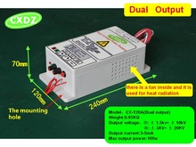 HIGH VOLTAGE POWER SUPPLY WITH DUAL OUTPUT  10KV or 10kv/ 20kv  for electrostatic air cleaner