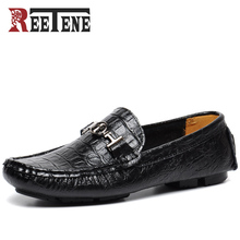 Buy High Men Loafers Leather Casual Shoes Men Loafers Luxury Brand Men Shoes Genuine Leather Men Falts Shoes Mocasines for $31.20 in AliExpress store