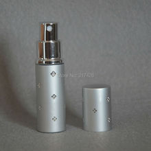 Brand New 100%Fashion Deluxe Travel Refillable Mini Atomiser Spray Perfume 10ml Bottle Free Shipping(China)