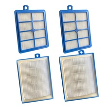 4PCS/LOT HEPA FILTER 12 for Philips Performer Pro FC9174 FC9150 FC9170 FC9195 FC8031 vacuum cleaner filter EPA 12(China)