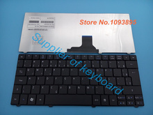 Free Shipping NEW Brazil Br Teclado For Acer Aspire One 751 751H 752 753 ZA3 ZA5 AO751 1410T 1810 BR Laptop Keyboard