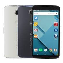 "Original Motorola Google Nexus 6 XT1103 Quad Core Cell Phone 5.96"" inch 3GB RAM 32GB/64GB ROM 13MP 4G LTE Refurbished"