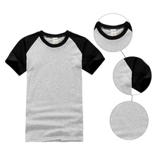 Summer  Men's Casual T-shirt Short-Sleeved O-Neck T-shirt Five Colored  Optional Men's T-shirt