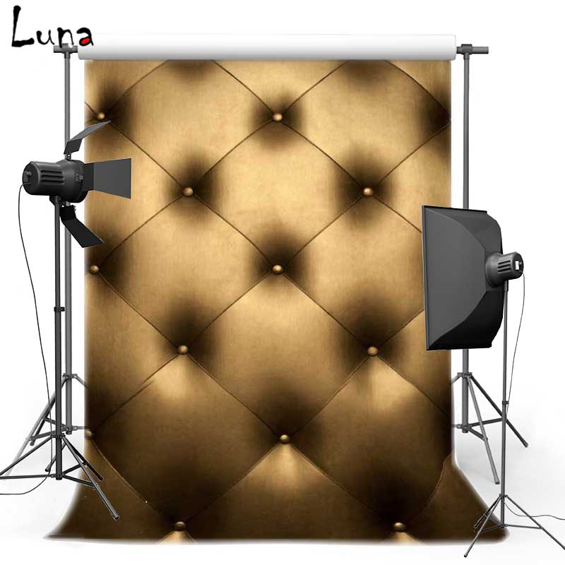 Vinyl Photography Background Cowhide Backdrops Baroque bed headboard tufted For Wedding photo studio 602<br><br>Aliexpress