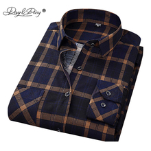 DAVYDAISY New Arrival Men Shirt Long Sleeved Assorted Classical Plaid Male Shirts Brand Clothing Casual Shirt Man DS011(China)