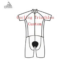 customize Men's Triathlon Bicycle Clothing / 2017 Cycling Skinsuit Professional Sports Ropa De Ciclismo cycling clothing
