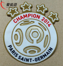 2014 PSG Champion Ligue 1 Soccer Football Patch PSG 1415 SOCCER patch(China)