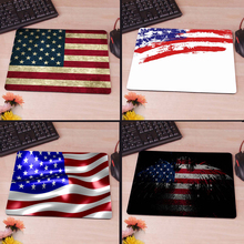 Usa Flag Slim Mouse Pad Pads Speed Up Mice Pad Mat Mousepad