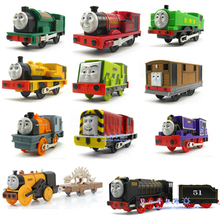 Electric Thomas and friend Trackmaster engine Motorized train Children child kids plastic toys(China)