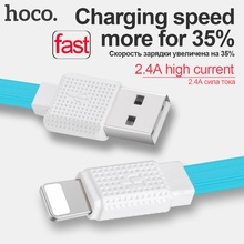HOCO 8 pin 0.3m 1.2m 2m OTG Fast Charging Cable USB Data Sync For Apple-Plug For iPhone 6 7 6s plus 5 5s Luxury Retail Package(Hong Kong)
