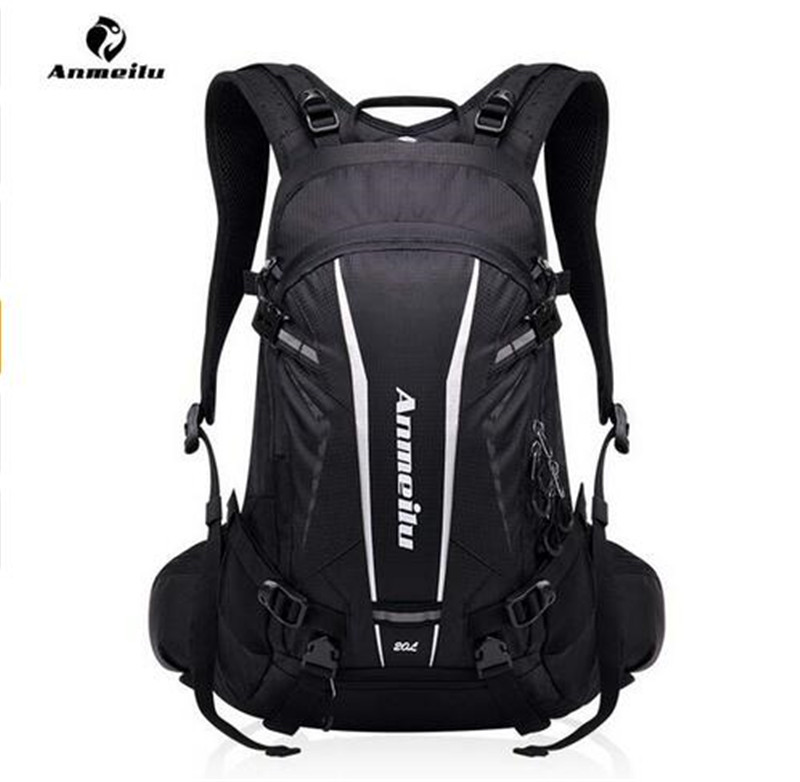 ANMEILU Women Men 20L Sports Bag Nylon Camping Outdoor Rucksack Cycling Hiking Travel Backpack +Rain Cover +Phone Case <br>