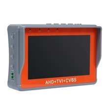 "ANNKE AHD TVI CVBS CCTV Camera Tester 4.3"" LCD Monitor Network Cable Test PTZ Testing For Cctv Camera(China)"