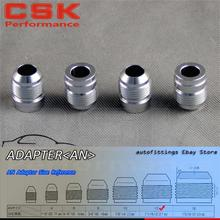 4pcs AN -12 AN12 Male Aluminium Adapter Weld Bung Nitrous Hose Fitting Tank Cell(China)