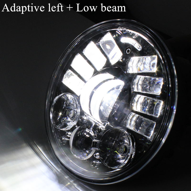 Low beam adaptive Left