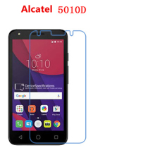 5 Pcs Ultra Thin Clear HD LCD Screen Guard Protector Film With Cleaning Cloth For Alcatel OneTouch Pixi 4(5)3G OT5010D(China)