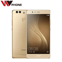 "Original Huawei P9 4G LTE Mobile Phone Kirin 955 Octa Core 5.2"" FHD 1080P Dual Back 12.0MP Camera Fingerprint ID(China)"