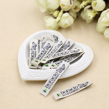 Business letters live butterfly clothing accessories trademark lingbiao customized label free(China)