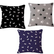 European Style Animal Dog and Cat Foot super Decorative Sofa throw Cushion With No Core Car Pillow home decor for Retail
