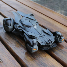 Cool 1:24 Movie Version Black Batman Die-cast Metal car model Children Racing Car Toys Large Batmobile bat Mobile Cars