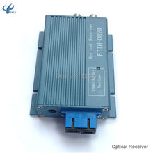10pcs/lot Wholesale SC/UPC Duplex FTTH Fiber Optical Receiver OR20 CATV 2 port output 2 port input WDM Fiber Optical Connector(China)
