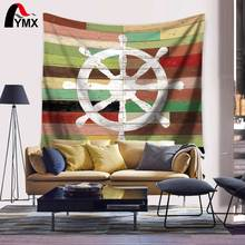 Home Textile Wheel Anchor Compass Life Buoy Sailboat Tapestry Wall Hanging Tapestry Mandala Fabric Decor 2017 Summer Beach Towel
