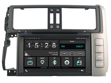 FOR TOYOTA PRADO 150 CAR DVD Player car stereo car audio head unit Capacitive Touch Screen SWC DVR car multimedia
