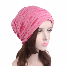 EMS OR DHL 120PCS 2017 Cotton Thread Hole Headband Pile Heap Ear Cap Tide People Hat New Mother Hair Accessories TTM-08(China)