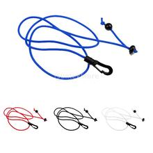 "1.1m/43.3"" Ultra-light Compact Elastic Kayak Canoe Paddle Leash Bungee Cord Fishing Rod Lanyard Secure Rope Black/White/Blue/Red"