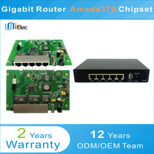 Amada370 Enterprise Router Firewall Gateway PCBA ODM OEM Custom Board(China)