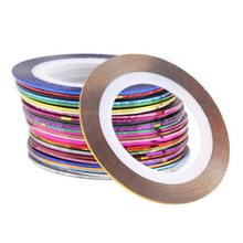Nail Art Sticker Tools Rolls Striping Tape Line 10 18 30 Colors  Beauty Decorations Salon Nail Stickers