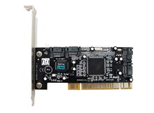 New Stock Chip SIL3114 PCI to 4 SATA Interfaces Expansion Card Support Low Profile Bracket
