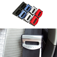 2pcs/Lot Car Styling Universal Seat Belts Clips Safety Stopper Auto Belt Car-Styling For Vehicles